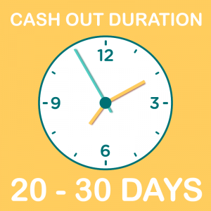 cash out duration