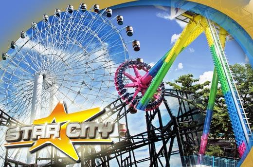 Star City Entrance Tickets for 2 pax